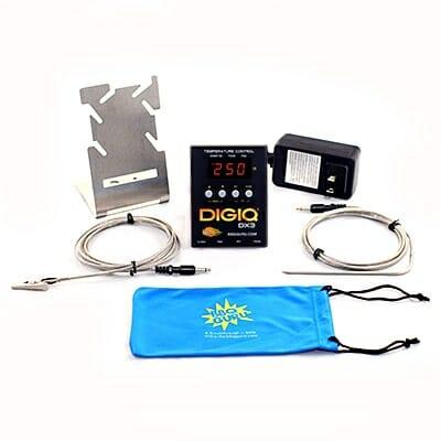 BBQ Guru DigiDX3 Black Kit